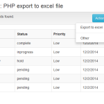Exporting Data to Excel with PHP and MySQL